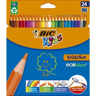Bic Kids Evolution Kuruboya 24 Renk
