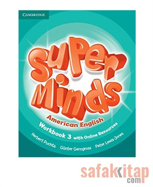 Cambridge Super Minds American English Level 3 Workbook with Online Resources