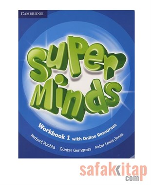 Cambridge Super Minds Level 1 Workbook with Online Resources