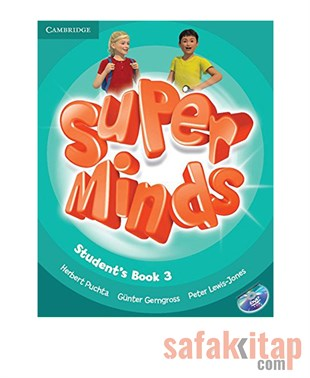 Cambridge Super Minds Level 3 Students Book with DVD-ROM