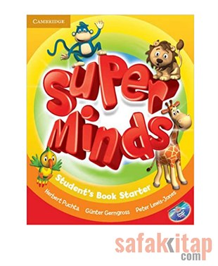 Cambridge Super Minds Starter Students Book with DVD-ROM Cambridge