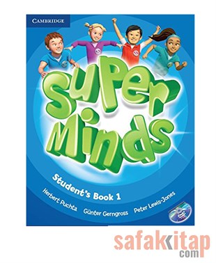 Super Minds Level 1 Students Book with DVD-ROM Cambridge