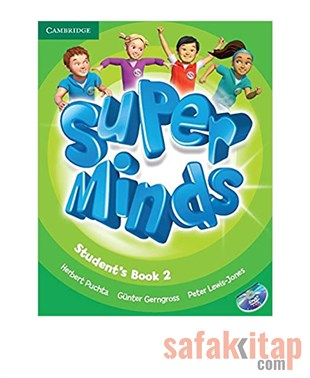 Super Minds Level 2 Students Book with DVD-ROM